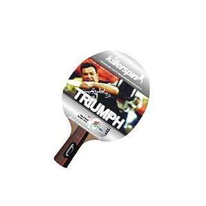 100 10 Triumph Table Tennis Racket, Red Black
