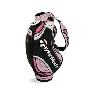 Taylormade r7 T2 mini Staff Golf Bag, Ladies Pink/Black