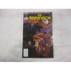 The Terminator 1988 series # 5 comic book Toys & Games