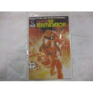 The Terminator 1989 series # 13 comic book Toys & Games