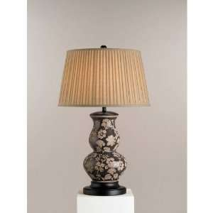 Traditional / Classic Graphite Brown Windflower Table Lamp Home