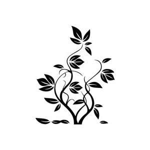 Tree Growing   Plant Decal Vinyl Car Wall Laptop Cellphone