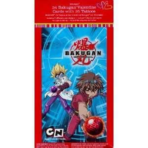 Bakugan Tattoo Valentine Cards for Kids (84155540) Health