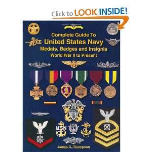 Complete Guide to United States Navy Medals, Badges and