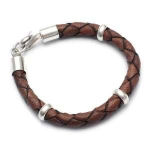 Leather bracelet, Chankas Warrior 0.3 W 8.7 L Jewelry