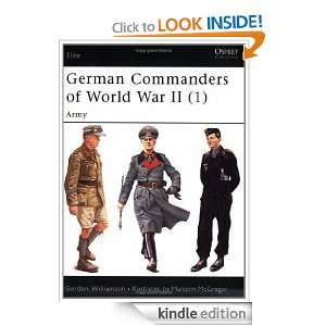 German Commanders of World War II (1) Vol 1 (Elite) [Kindle Edition]