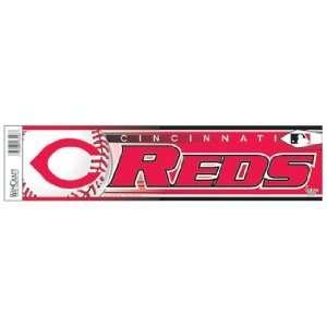 Cincinnati Reds Bumper Sticker Decal