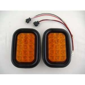 Marker Park Turn Signal Lights / Grommets / Wire Pigtails Automotive