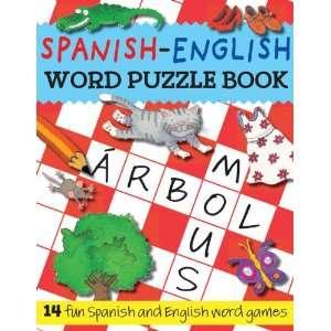 com Spanish English Word Puzzle Book 14 Fun Spanish and English Word