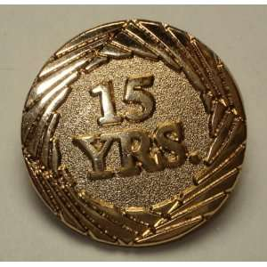 15 Years Lapel Pin: Everything Else