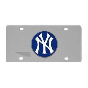 New York Yankees License Plate