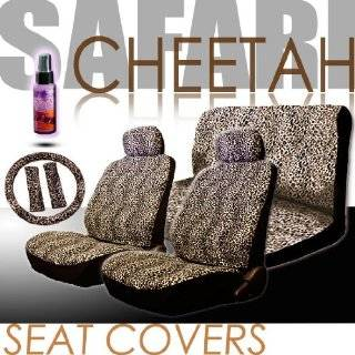 Low Back Front Car Seat Covers, Rear Bench Cover, Seat Belt Covers