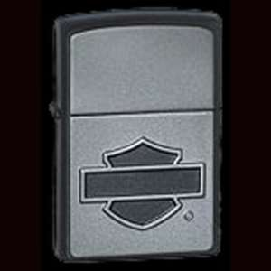 Chrome Harley Davidson Emblem Zippo Lighter Everything Else