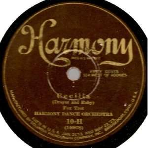 Yes Sir, Thats My Baby / Cecilia (1925 78rpm): Harmony