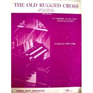 The Old Rugged Cross (Words and Music for Hammond and Pipe
