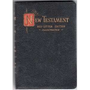 The New Testament of Our Lord and Savior Jesus Christ (Red