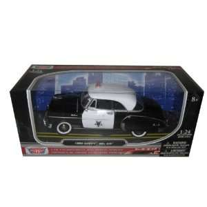 1950 Chevrolet Bel Air Police 1/24 by Motormax 76931 Toys