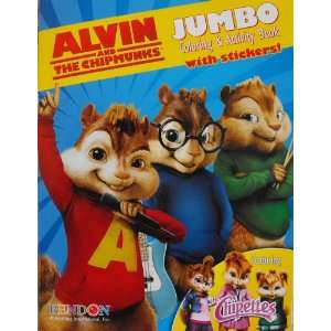 Alvin and the Chipmunks Coloring and Activity Book with 30 Stickers