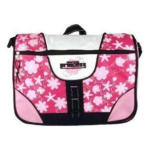American Princess Messenger Bag School Bag (Pink)