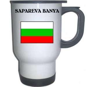 Bulgaria   SAPAREVA BANYA White Stainless Steel Mug