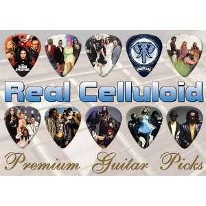 Black Eyed Peas Premium Guitar Picks X 10 (0): Musical
