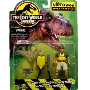 Jurassic Park The Lost World Nick Van Owen Toys & Games