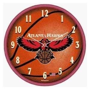 Atlanta Hawks NBA Wall Clock