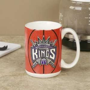 Sacramento Kings Pewter Logo Basketball Coffee Mug Sports & Outdoors