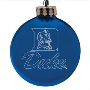 Duke Blue Devils 4 Laser Etched Holiday Tree Ornament