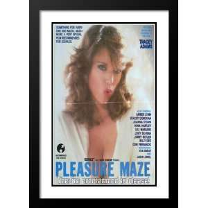 Pleasure Maze 20x26 Framed and Double Matted Movie Poster   Style A