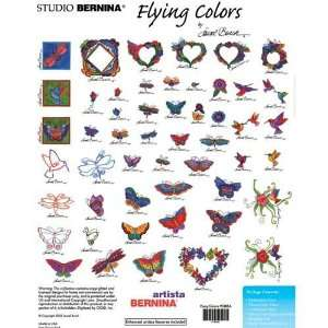 Flying Colors Embroidery Designs by Laurel Burch on an ARTISTA