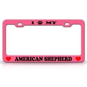 I PAW MY AMERICAN SHEPHERD Dog Pet Animal High Quality