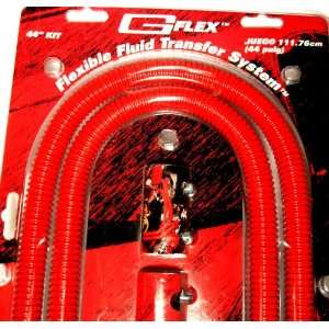 Mr Gasket Red Stainless Steel 44 Race Heater Hose Kit 11018r with