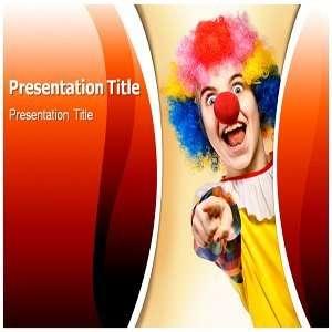 Clown Powerpoint Template   Clown Powerpoint Slides
