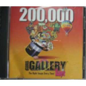 Corel GALLERY Magic 200,000 Software