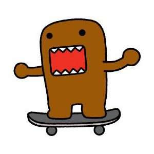 Domo Japanese Animation Cartoon Patch   3 Skateboard