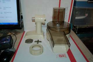 OSTER REGENCY KITCHEN CENTER FOOD PROCESSOR + MEAT SAUSAGE CHOPPER