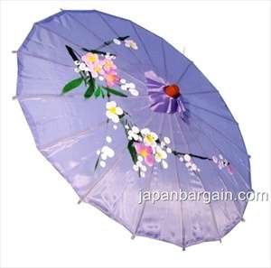 Japanese Chinese Umbrella Parasol 22in Lavender 157 2