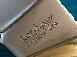 VINTAGE KERSHAW 1050 LOCKBACK FOLDING HUNTER BOWIE KNIFE KNIVES POCKET