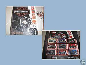 30 HARLEY DAVIDSON VALENTINES DAY CARDS 1999 BOX NEW