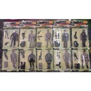 World Peacekeepers   9cm Poseable action figure   Pack of ten assorted