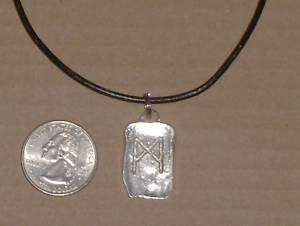 TIBETAN SILVER CELTIC SYMBOL SERENITY NECKLACE