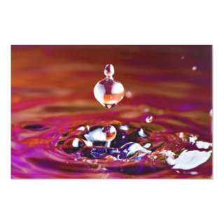 of Water Falling into Rainbow Colored Liquid Photo from Zazzle