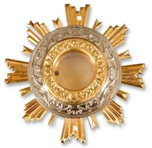 Russian Gold Plated Relic for Icon 2 Srews Reliquary