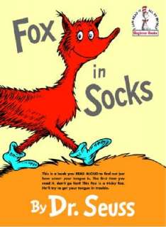 Fox in Socks by Dr Seuss   Reviews, Description & more   ISBN