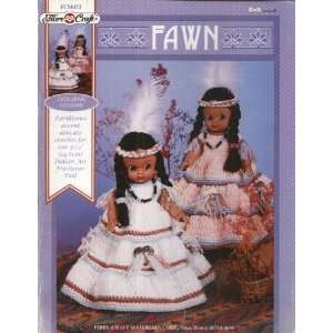 AMERICAN INDIAN : Crocheted dolls outfits to fit 5.75in air freshener