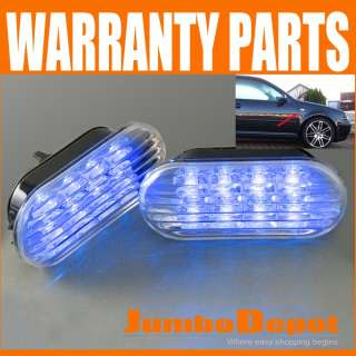 FOR VW JETTA GOLF PASSAT SIDE MARKER LIGHT LED 1998 1999 200 2001 2002