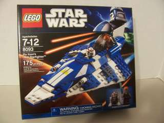 LEGO   Star Wars PLO KOONS JEDI STARFIGHTER   (Set #8093)   Brand