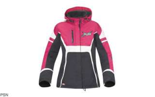 2011 Ski Doo Ladies X Team Jacket Coat Black 3x