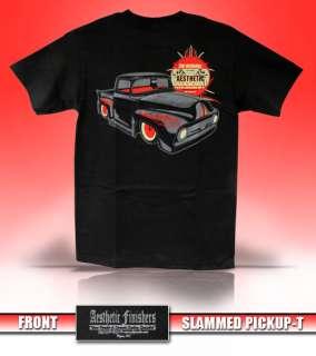 Aesthetic Finishers Slammed Ford Pickup Hot Rod T Shirt